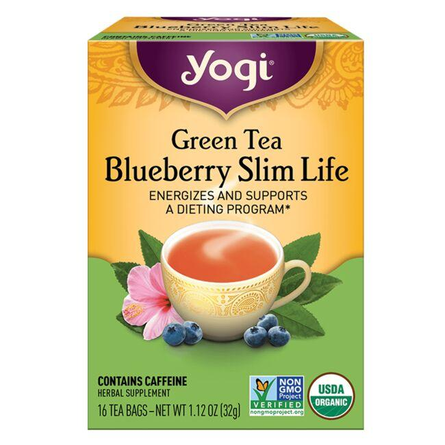 Yogi TeaGreen Tea Blueberry Slim Life