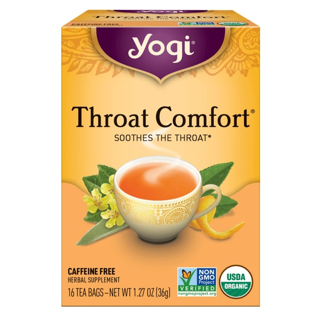 Yogi TeaThroat Comfort