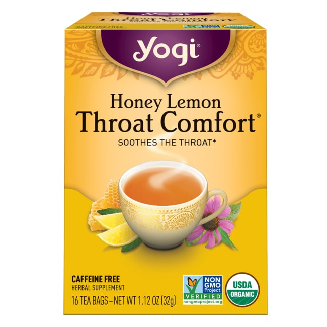 Yogi TeaHoney Lemon Throat Comfort