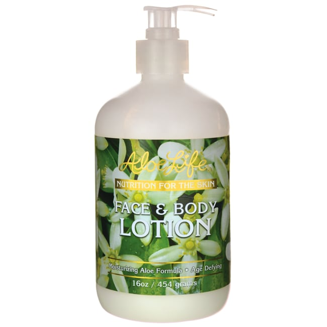Aloe LifeFace & Body Lotion