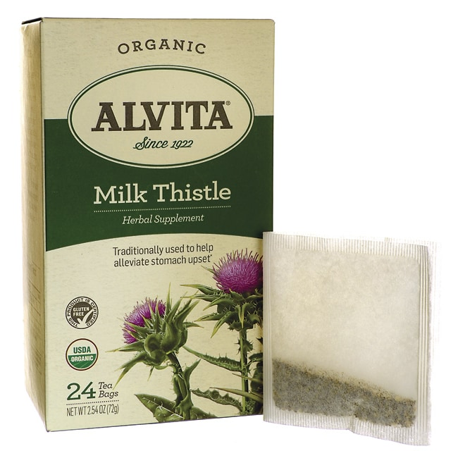 Alvita TeaMilk Thistle Tea