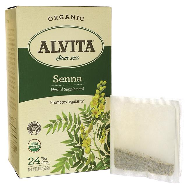 Alvita Tea Senna Tea 24 Bag S Swanson Health Products
