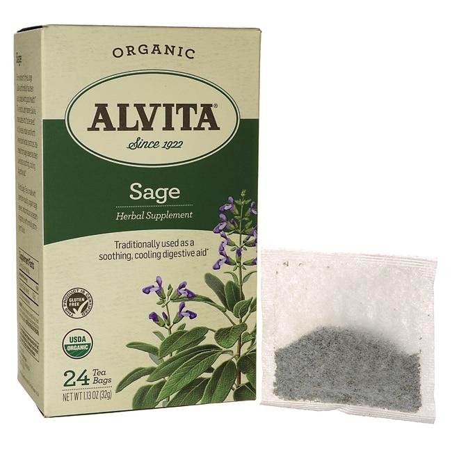 Alvita TeaSage Tea