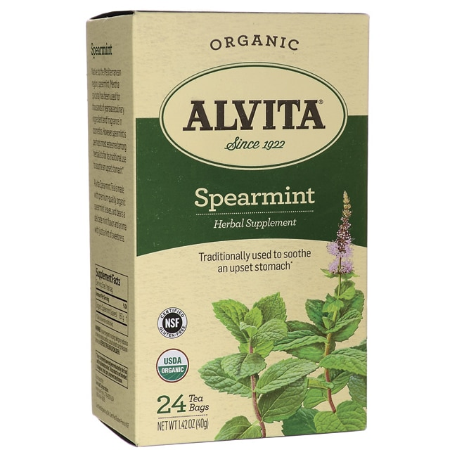 Alvita TeaOrganic Spearmint Tea