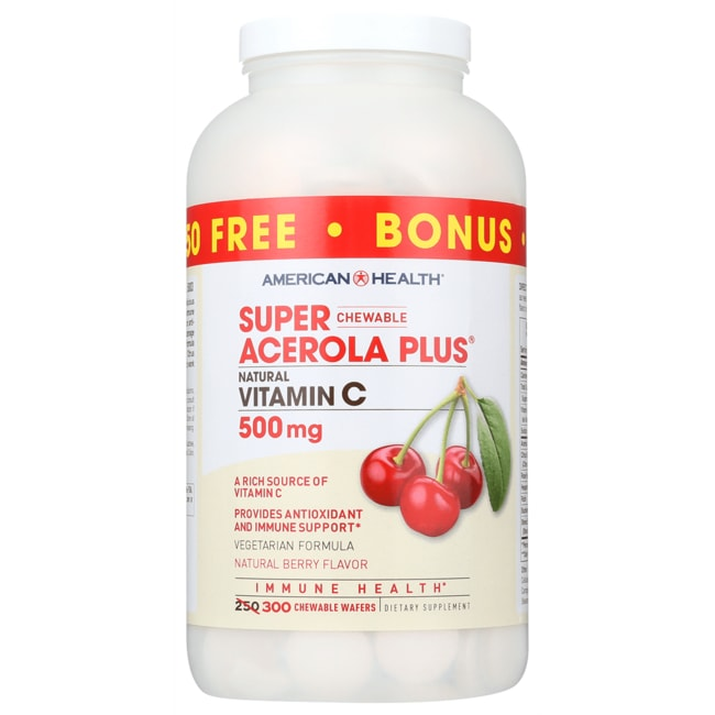 American HealthSuper Acerola Plus Vitamin C - Berry