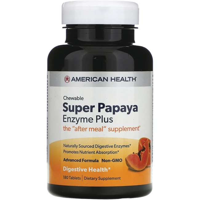 American Health Super Papaya Enzyme Plus