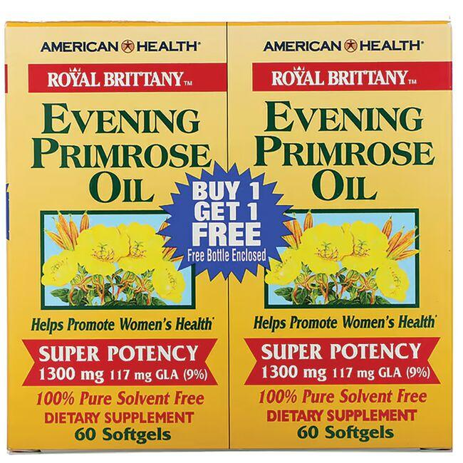 American Health Royal Brittany Evening Primrose Oil - Twin Pack