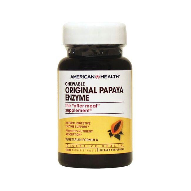 American HealthChewable Original Papaya Enzyme