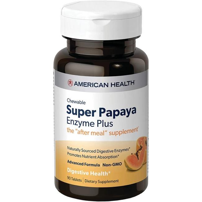 American HealthSuper Papaya Enzyme Plus