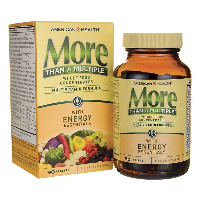 American HealthMore Than A Multiple with Energy Essentials