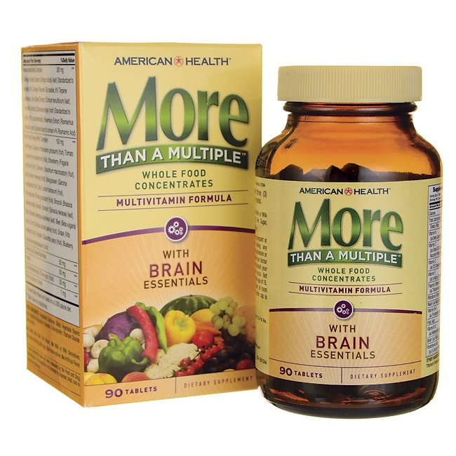 American HealthMore Than A Multiple with Brain Essentials