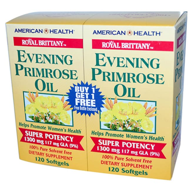 American HealthRoyal Brittany Evening Primrose Oil - Twin Pack