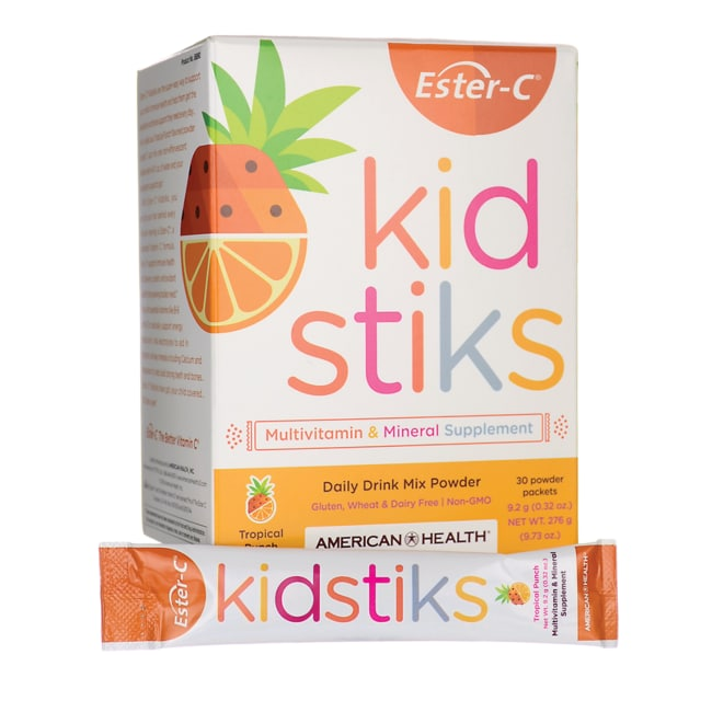 American HealthEster-C Kid Stiks - Tropical Punch