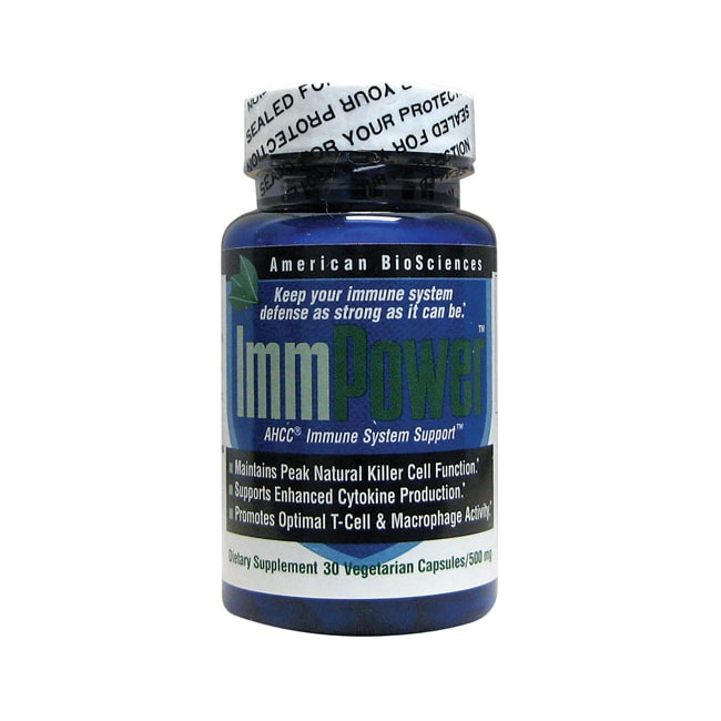 american biosciences immpower ahcc 500 mg 30 veg caps