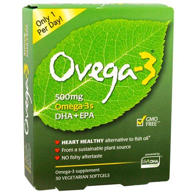 i-Health, IncOvega-3 Omega-3s DHA + EPA