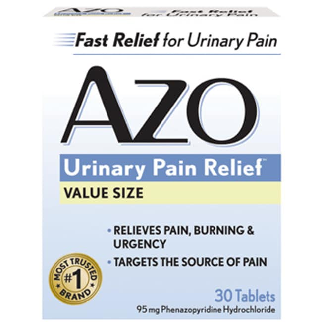 i-Health, IncAZO Standard Urinary Pain Relief