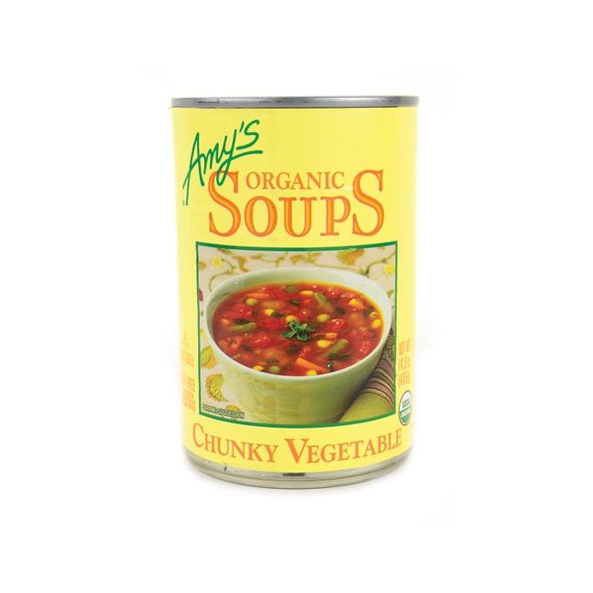 Amy's KitchenOrganic Fat Free Chunky Vegetable Soup