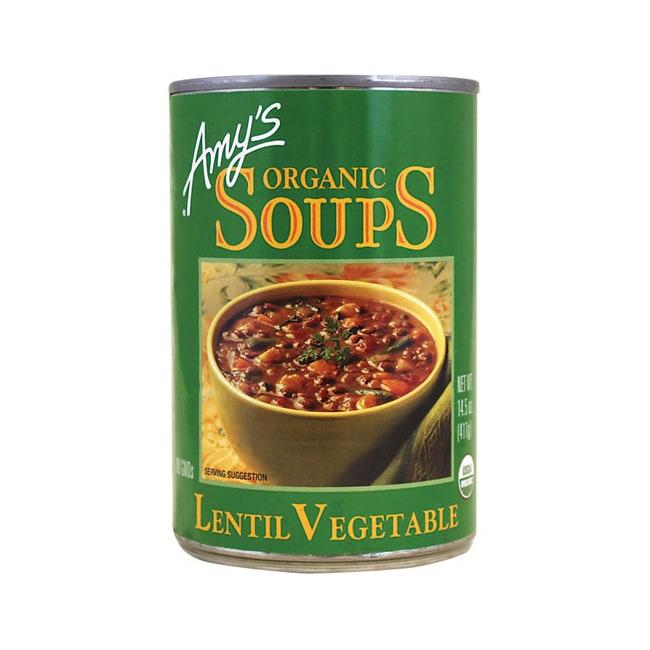 Amy's KitchenOrganic Lentil Vegetable Soup