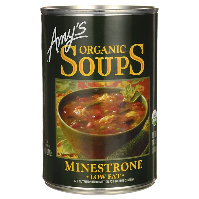Amy's Kitchen Organic Low Fat Minestrone Soup