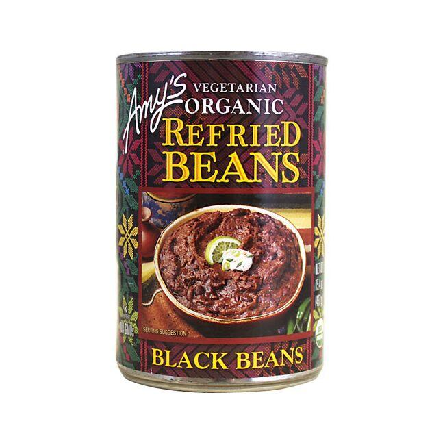 Amy's Kitchen Vegetarian Organic Refried Black Beans