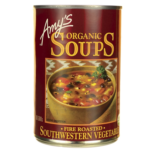 Amy's Kitchen Organic Soup Fire Roasted Southwestern Vegetable