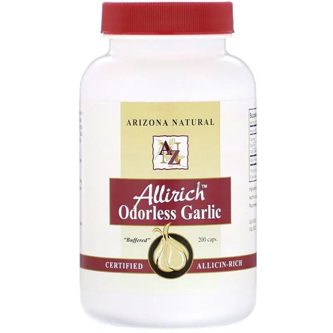 Arizona Natural Allirich Odorless Garlic