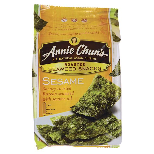 Annie Chun'sRoasted Seaweed Snacks - Sesame