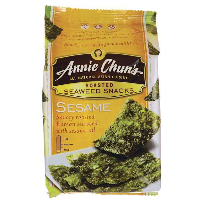 Annie Chun's Roasted Seaweed Snacks - Sesame Close Up