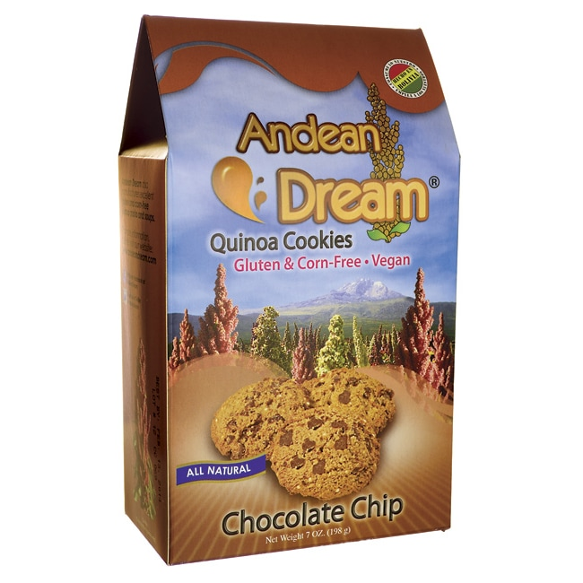 Andean Dream Quinoa Cookies - Chocolate Chip