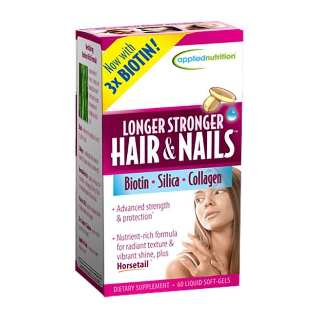 Applied Nutrition Longer Stronger Hair & Nails
