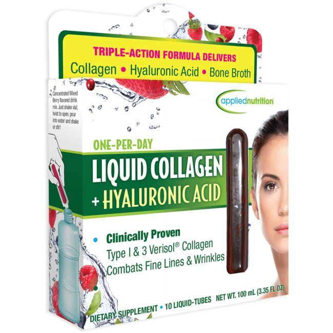 Applied Nutrition Liquid Collagen + Hyaluronic Acid - Mixed Berry