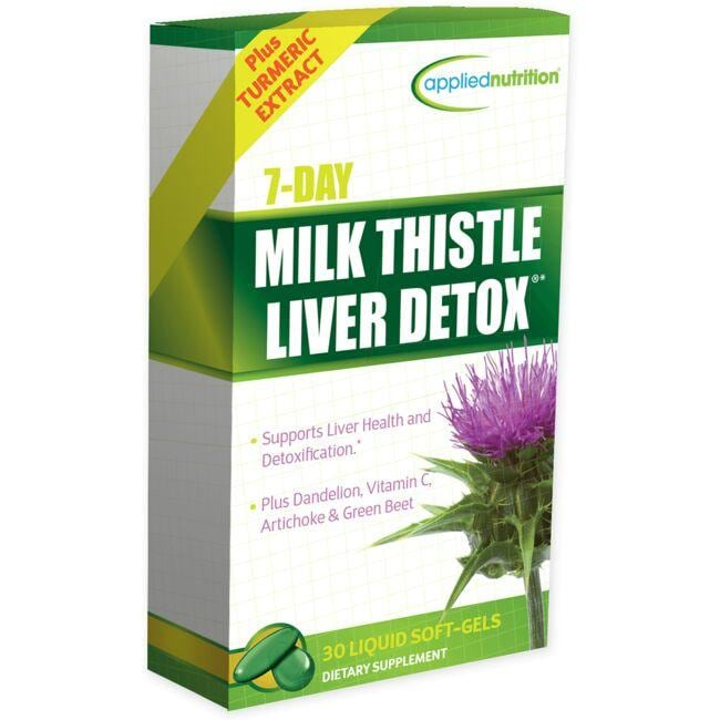 Applied Nutrition7 Day Milk Thistle Liver Detox
