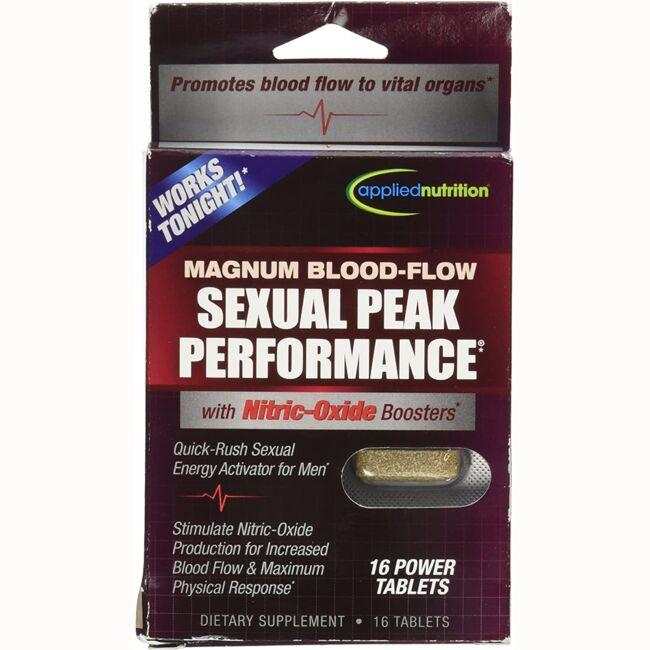 Applied Nutrition Magnum Blood-Flow Sexual Peak Performance