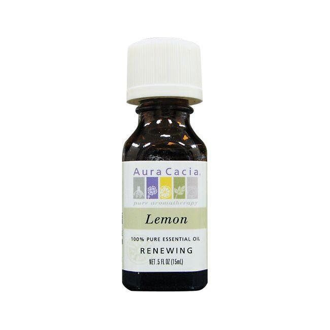 Aura Cacia 100% Pure Essential Oil Lemon