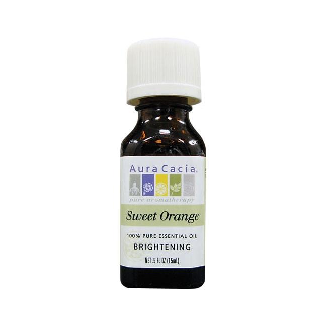 Aura Cacia 100% Pure Essential Oil Sweet Orange