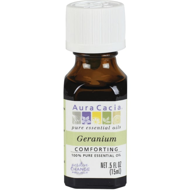 Aura Cacia 100% Pure Essential Oil Geranium