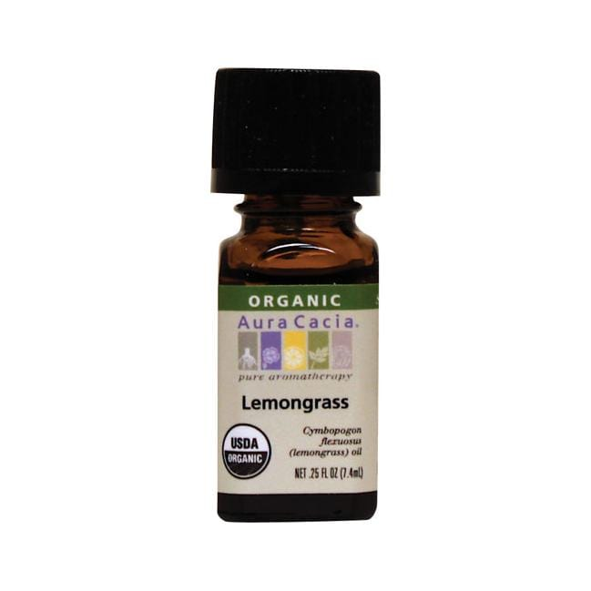Aura Cacia Organic Essential Oil Lemongrass