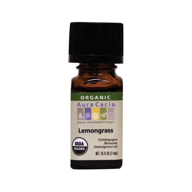 Aura Cacia Organic Essential Oil Lemongrass