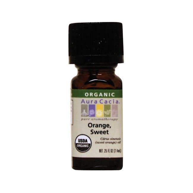 Aura Cacia Organic Essential Oil Orange, Sweet