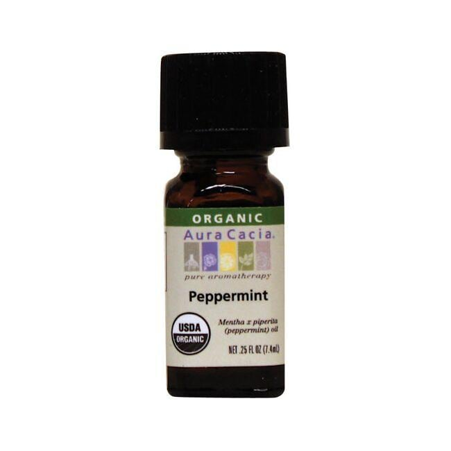Aura Cacia Organic Essential Oil Peppermint