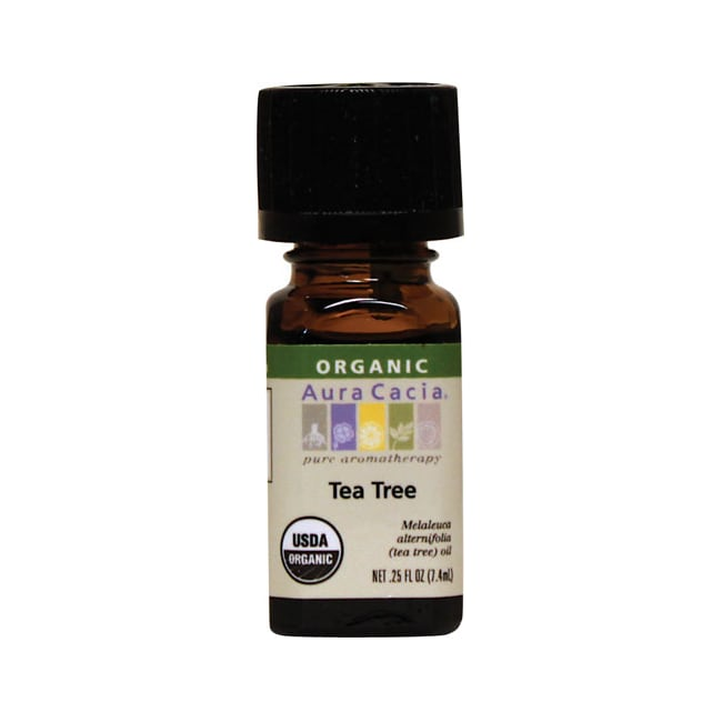Aura Cacia Organic Essential Oil Tea Tree