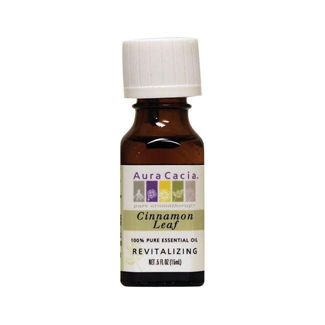Aura Cacia Essential Oil Cinnamon Leaf