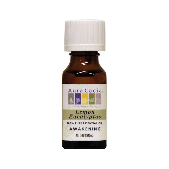 Aura Cacia Essential Oil Lemon Eucalyptus
