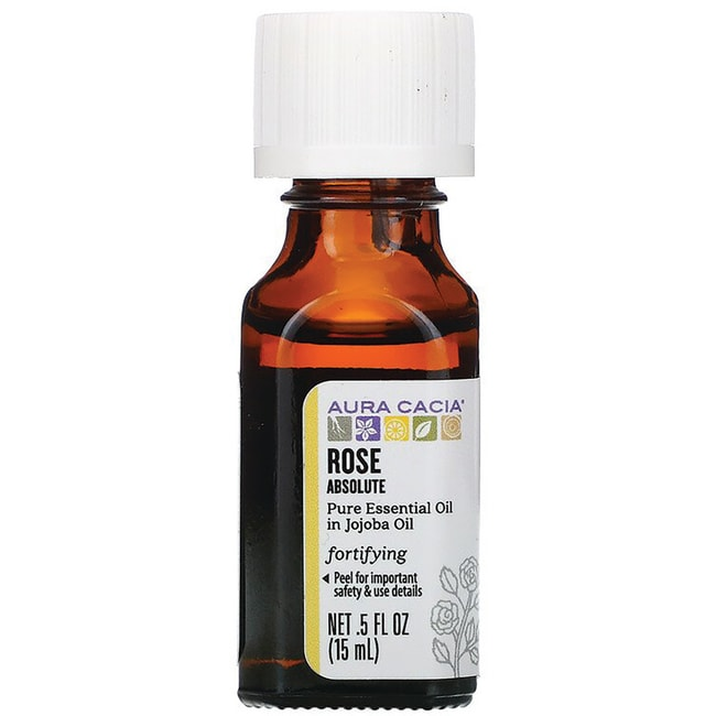 Aura Cacia Essential Oil Rose Absolute