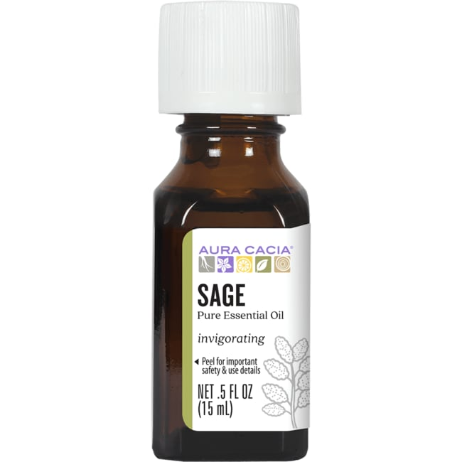 Aura Cacia Essential Oil Sage