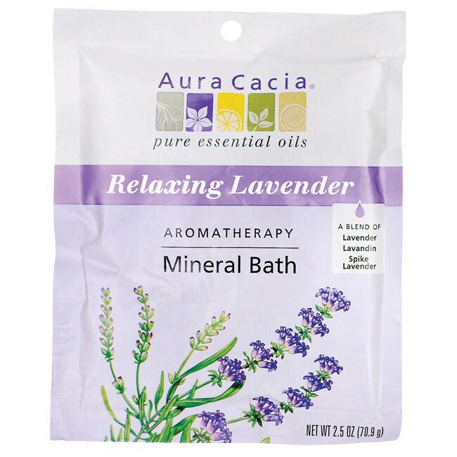 Aura CaciaMineral Bath - Relaxing Lavender