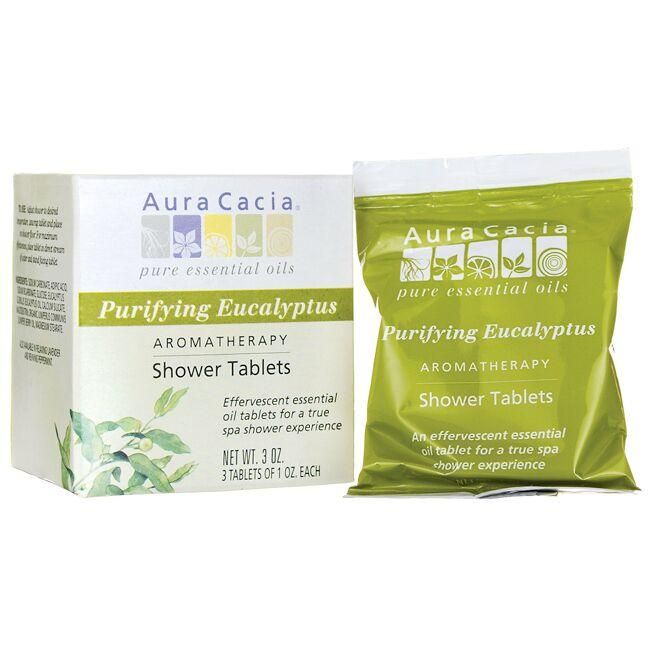Aura CaciaShower Tablets Purifying Eucalyptus
