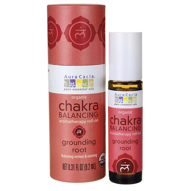Aura CaciaChakra Balancing Aromatherapy Roll-on--Grounding Root