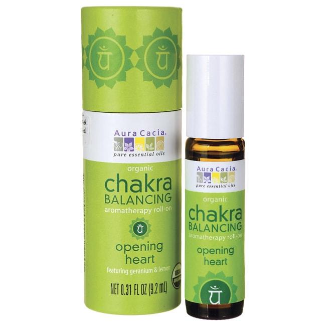 Aura CaciaChakra Balancing Aromatherapy Roll-on - Opening Heart