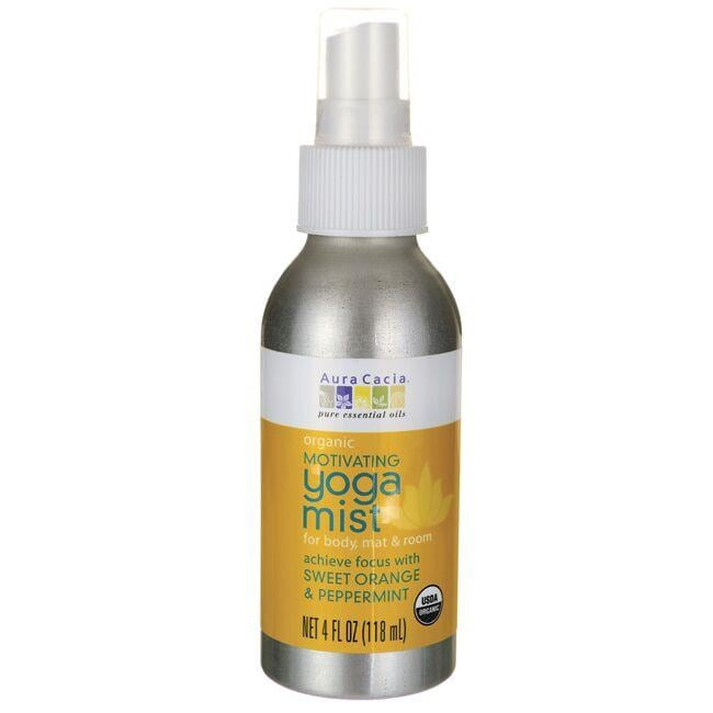Aura Cacia Motivating Yoga Mist - Sweet Orange & Peppermint